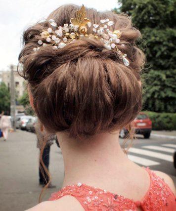 Причёска на выпускной для Лизы
