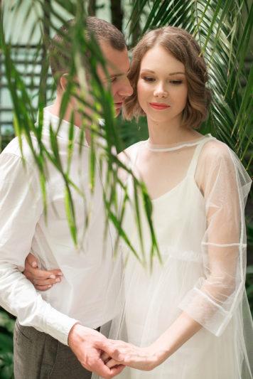 Макияж и укладка невесты Валерии