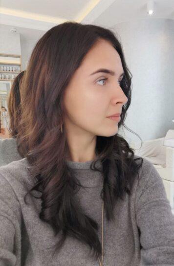 Моделирование бровей для Юлии