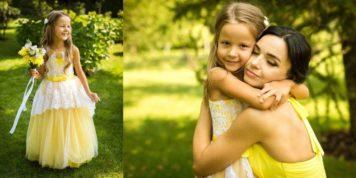 Причёска для Людмилы и укладка для её дочери