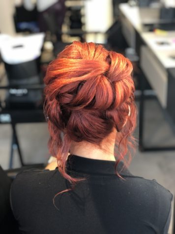 Причёска для Анны